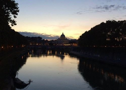 When The Sun Sets In Rome…