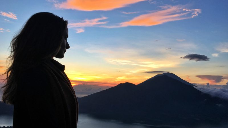 Sunrise on Mount Batur