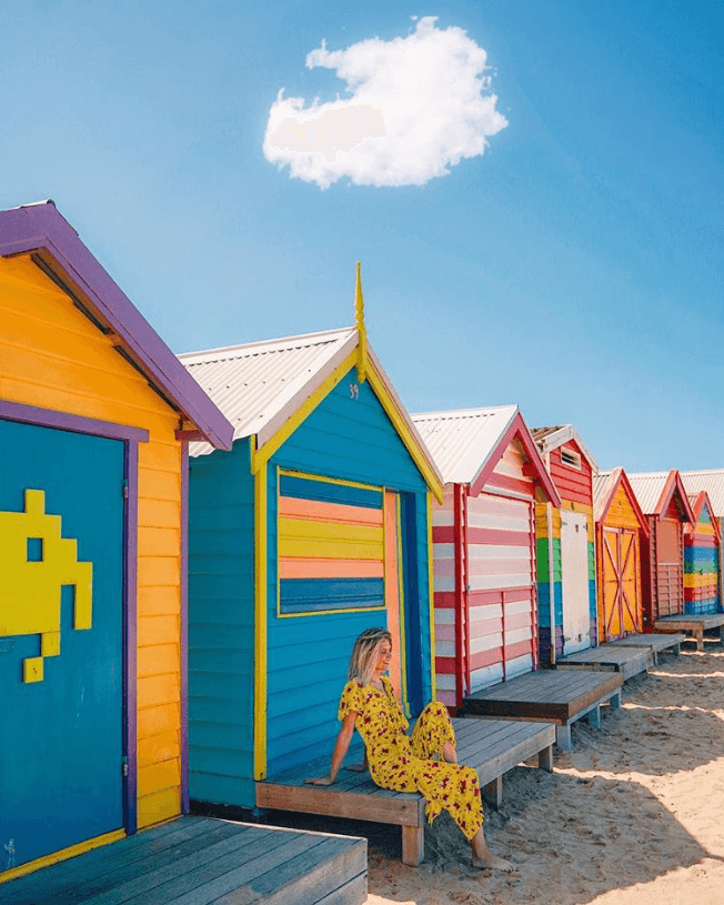 "Screenshot_2019-08-26 How Far From Home on Instagram ""A colourful introduction to Melbourne 🔸🔹🔻🇦🇺 We've seen beach hut[...]"